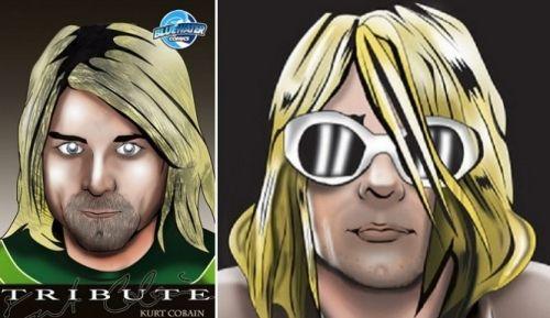 Kurt Cobains' personal comic book