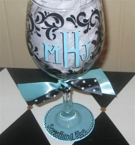 17 best images about wine glasses on pinterest painting for Painted wine glasses with initials