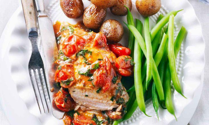 Les amoureux des anchois seront ravis d'apprendre que cette recette est prête en 30 minutes.  | Le Poulet du Québec