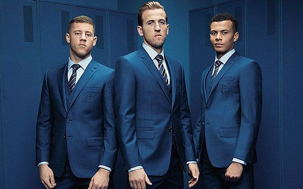 England unveil new Euro 2016 suit - does it reveal who Roy Hodgson will name in his squad? - Telegraph