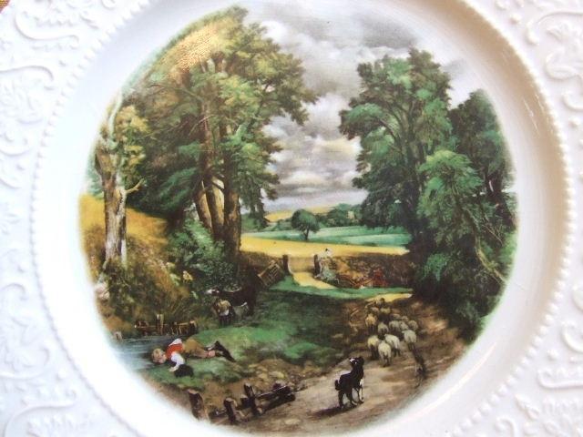 British China plate