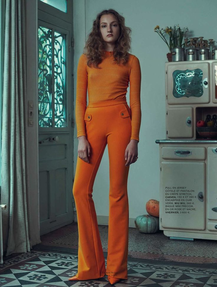 Agnes Nieske Abma by Sofia & Mauro for L'Express Styles