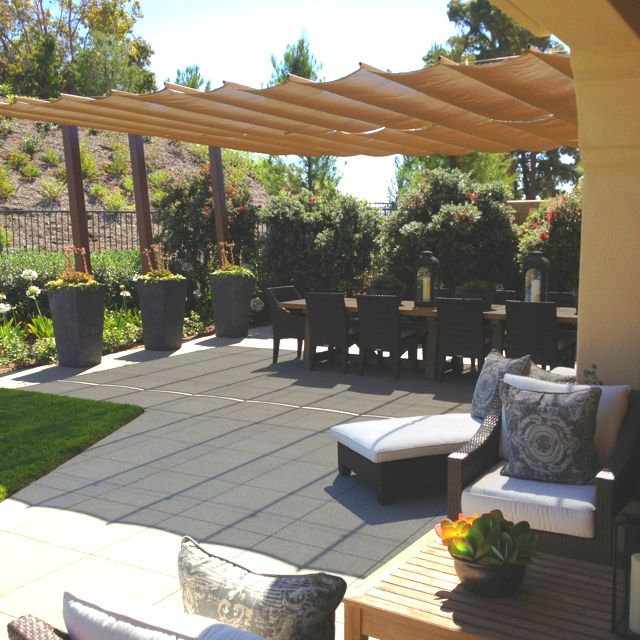 Backyard Oasis Ideas: 1000+ Images About Sunshade & Awnings On Pinterest