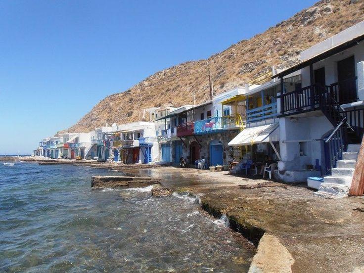 Klima village Milos Island