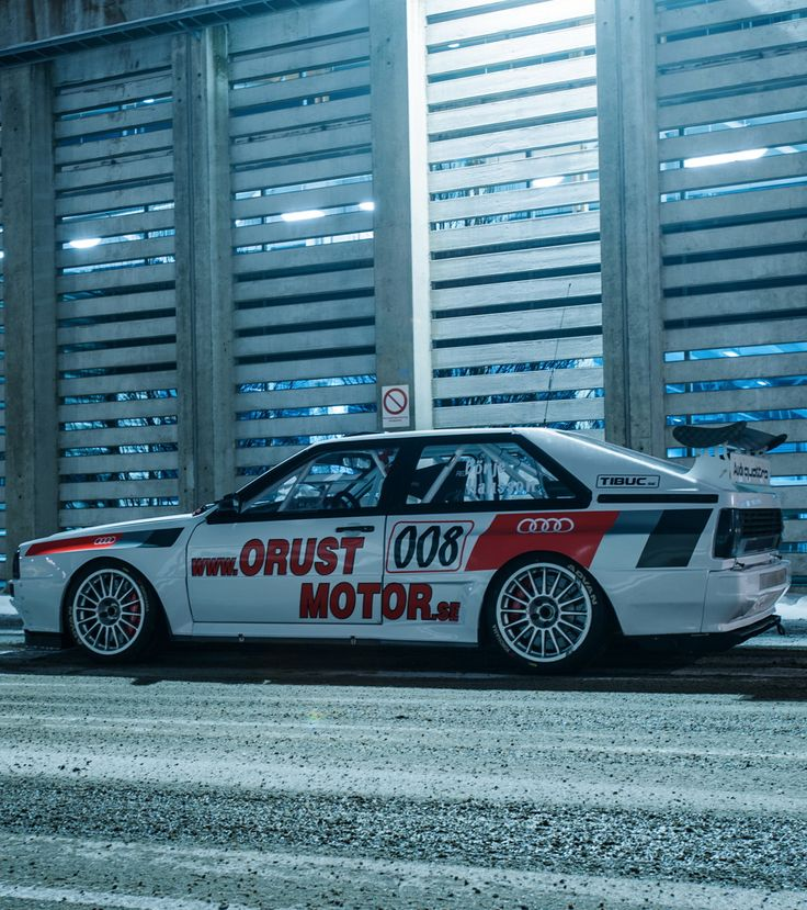Audi Coupe Quattro. I'd rather have this than any exotic car.