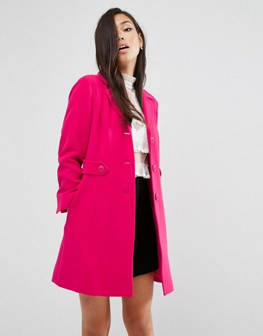 ASOS | Короткое расклешенное пальто в стиле ретро ASOS