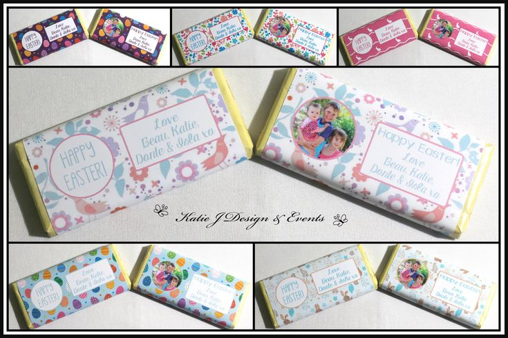 Beautiful Personalised Easter Aldi Mini Chocolate Labels Gifts Custom Handmade Present Gift Presents Family Friendship Co workers