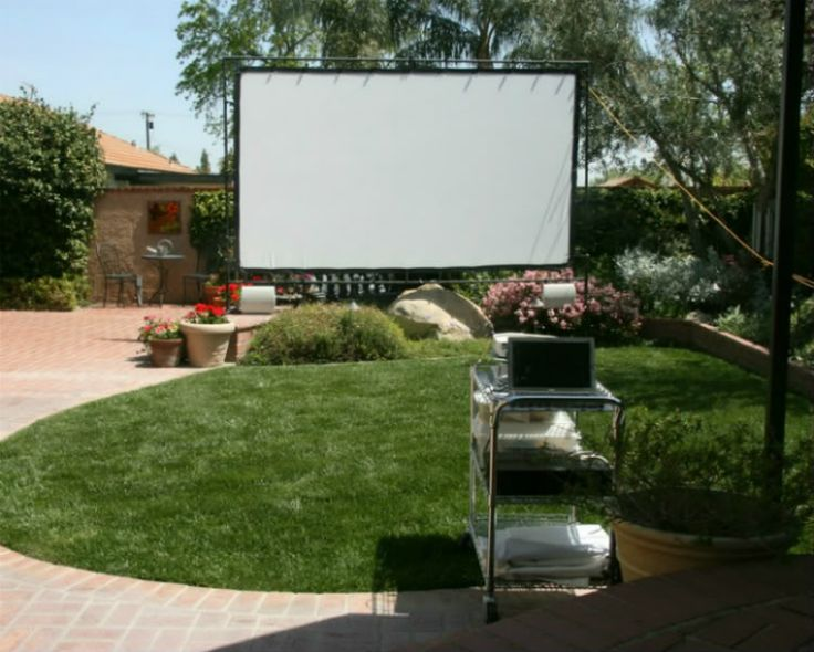 90 best images about Backyard theater ideas on Pinterest