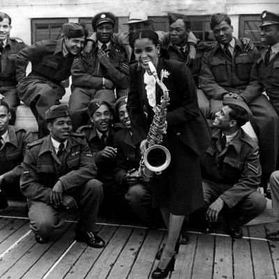 Mona Baptise blues singer Empire Windrush arrives in Britain with 409 west indians seeking jobs