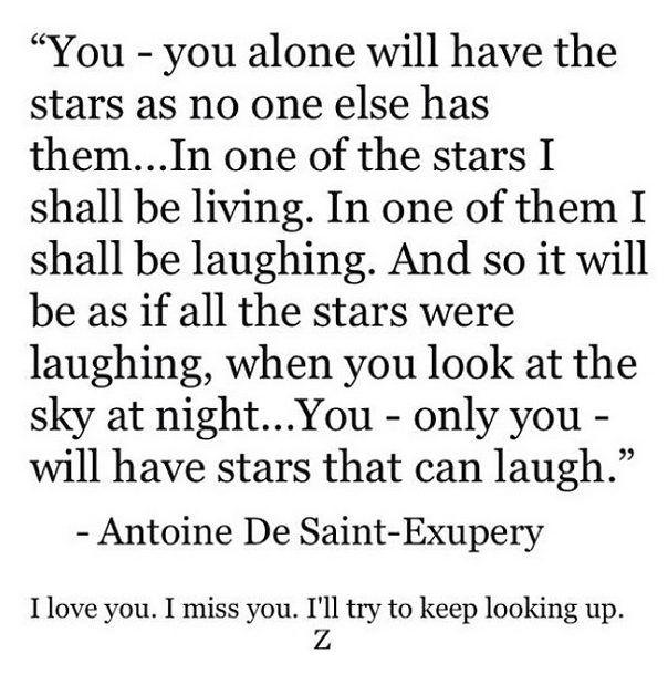 Ty będziesz miał takie gwiazdy, jakich nie ma nikt (...) Gdy popatrzysz nocą w…