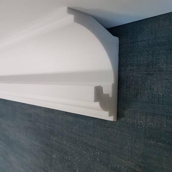 Hamburger Berliner Sockelleiste Fur Die Indirekte Beleuchtung Foliert Weiss 15 X 85 Mm Top Qualitat Gunstige Prei In 2020 Beleuchtung Sockelleisten Led Stripes