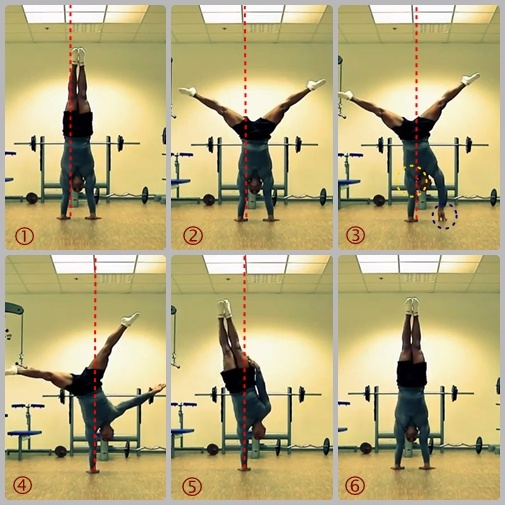 how to build up to handstand yoga