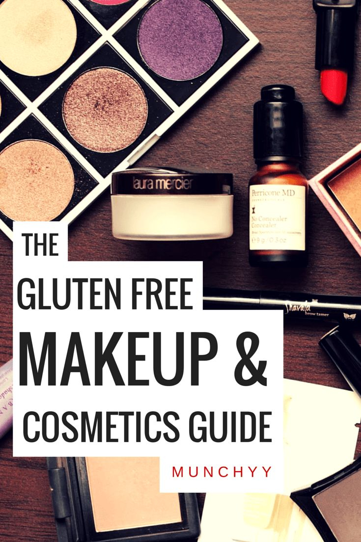 Gluten Free Makeup, Cosmetics, and Beauty Products