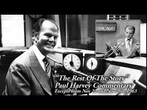The Rest Of The Story: Paul Harvey, Conservative Talk Radio Pioneer : NPR - so many memories!!