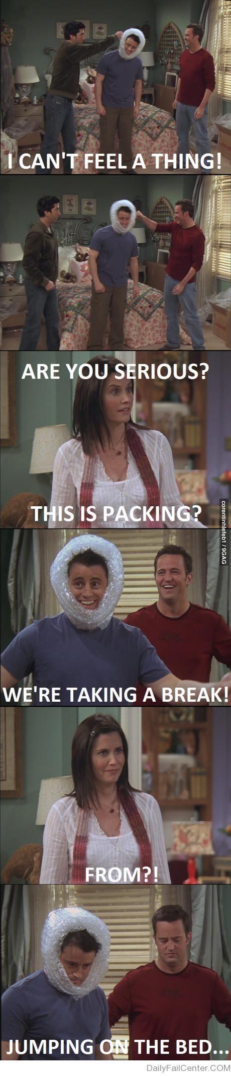 Haha I love Joey and Chandler