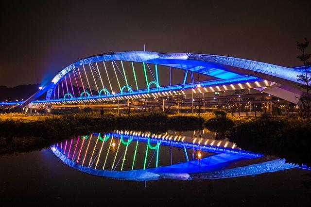 WOW  Sunshine Bridge, Taipei, Taiwan