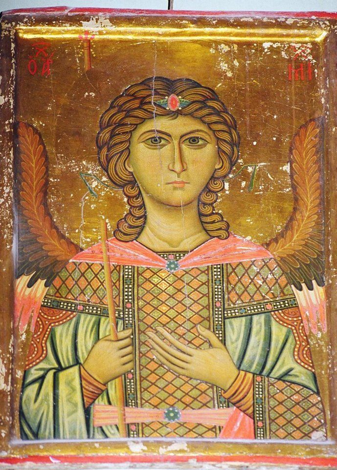 Archangel Michael Icon from Saint Catherine's Monastery, Mount Sinai