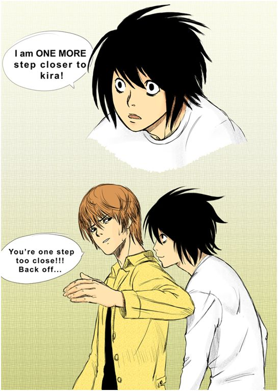 Light Yagami and L by  Selfyss. Naismith the whole show summed up.