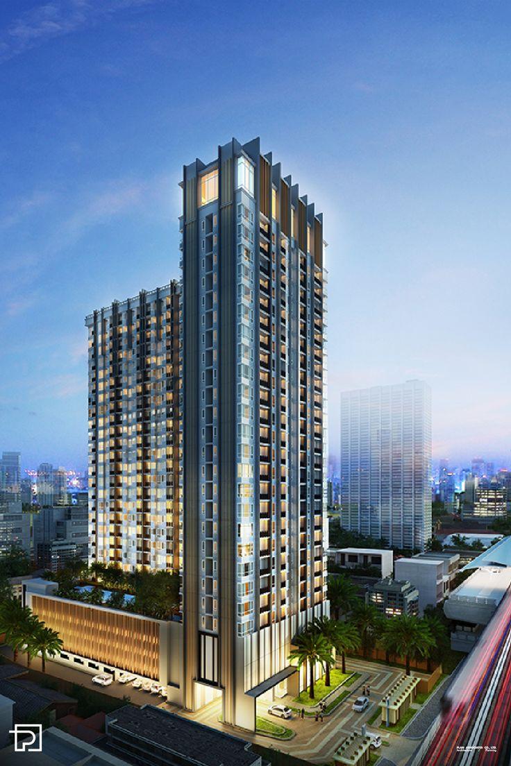Condominium design architect plan associates co ltd for Design hotel cheras