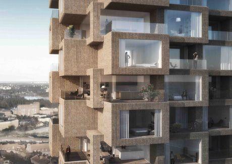 Oscar Properties : Helix och Innovationen #oscarproperties  facade, windows, view