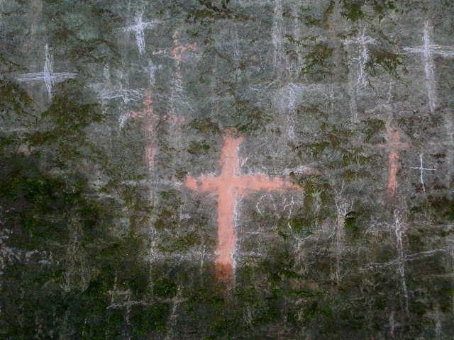Cross, la verna, Italy