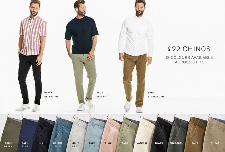 Chinos for Men   Stylish Chino Trousers   Next Official Site