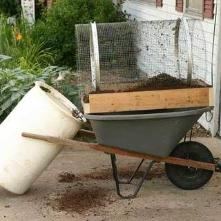 Trommel Compost Sifter: Gardens Ideas, Diy Compost, Compost Sifter, Diy Trommel, Trommel Compost, Gardens Projects, Gardens Gadgets, Diy Projects, Gardens Carts