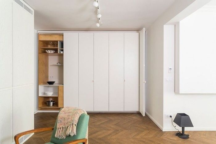 Двухкомнатная студия-трансформер в Софии – Красивые квартиры