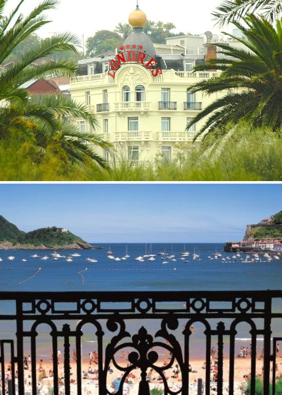 San Sebastian, Spain ✈ Destination Wedding Venue Spotlight: Hotel de Londres San Sebastian