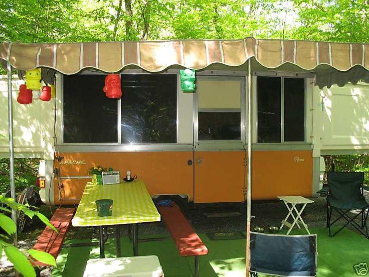 1976 Apache Ramada Hardsided Pop Up Camping Pinterest