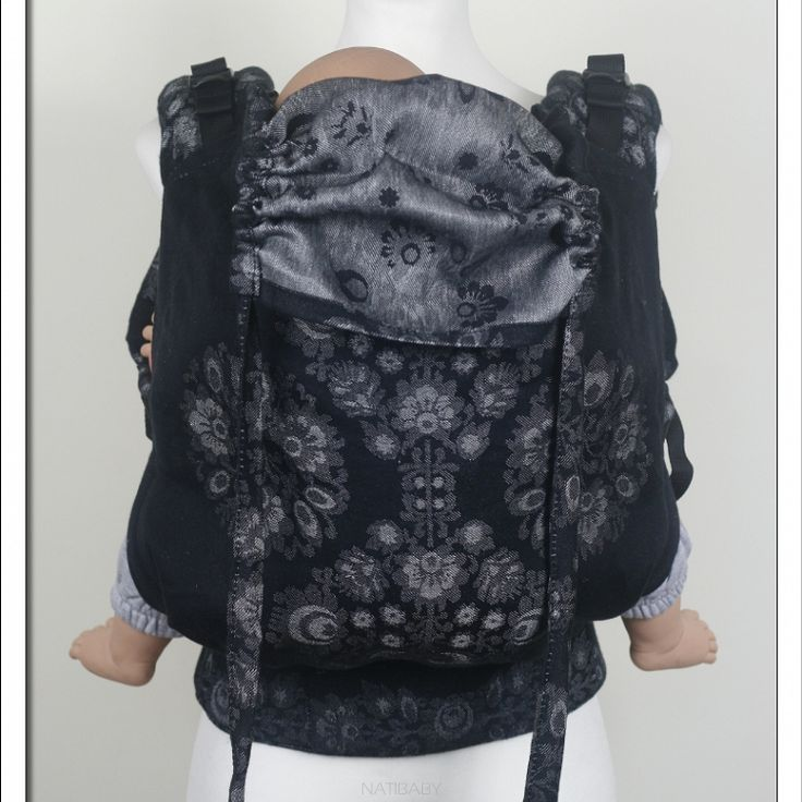 Soft Structured Carrier NatiGo Kurpie Chic