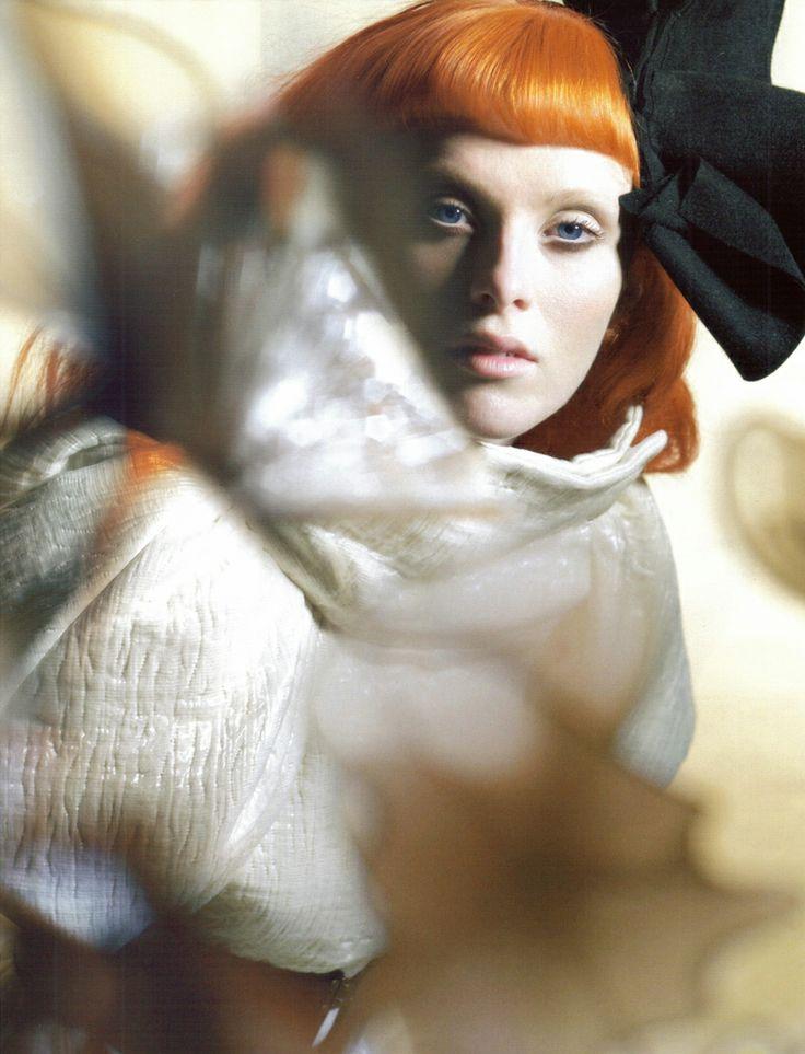 'SCULPTURE CLASS' by NICK KNIGHT: Sculpture Class, Nickknight, Karen O'Neil, Christian Lacroix, Vogue Uk, Karen Elson, Nick Knights, Fashion Photography, October 2008