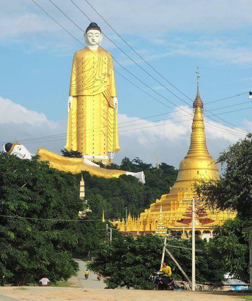 Myanmar bucketlist: See Monywa's giant Buddhas