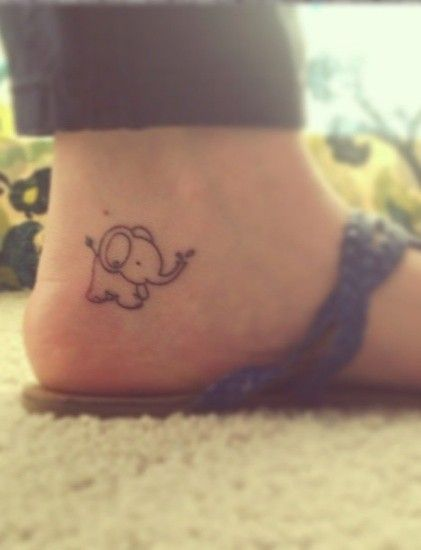 Elephant tattoo idea