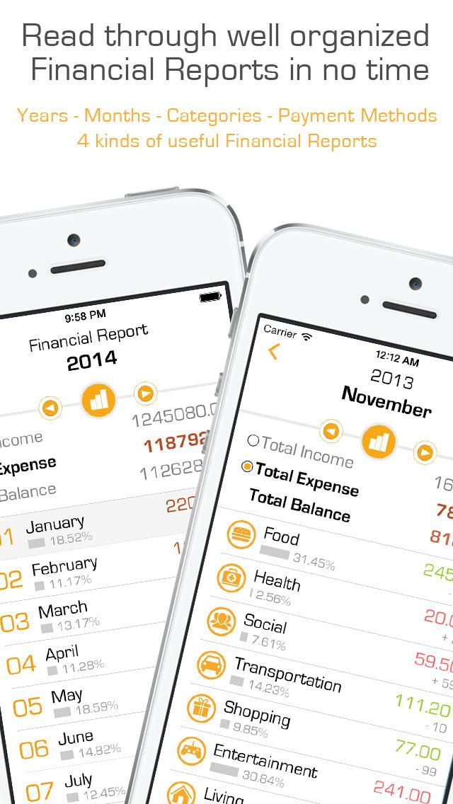 iPhone App Wealthy! - Track expenses, take photo, and share at one step. | Finance | Productivity | ***** | 4 | $0.99 NOW FREE | **Congrats! Finance