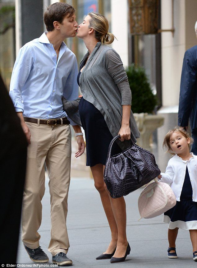 9-24-13. Ivanka Trump and her husband Jared Kushner