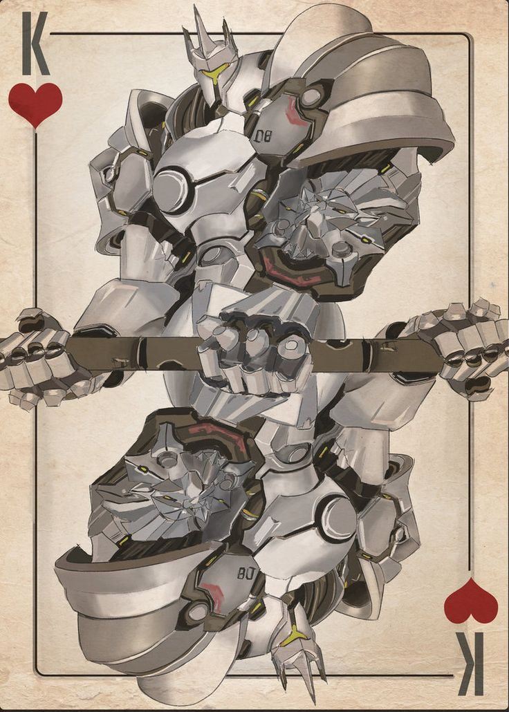 Reinhardt: King of Hearts by Alexandrowic
