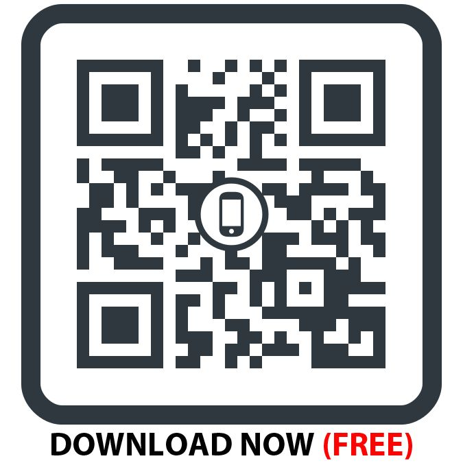 QR Code for Pic Scanner: Scan it with any QR reader app to get connected to the App Store for downloading the best photo scanning app for iPhone and iPad.