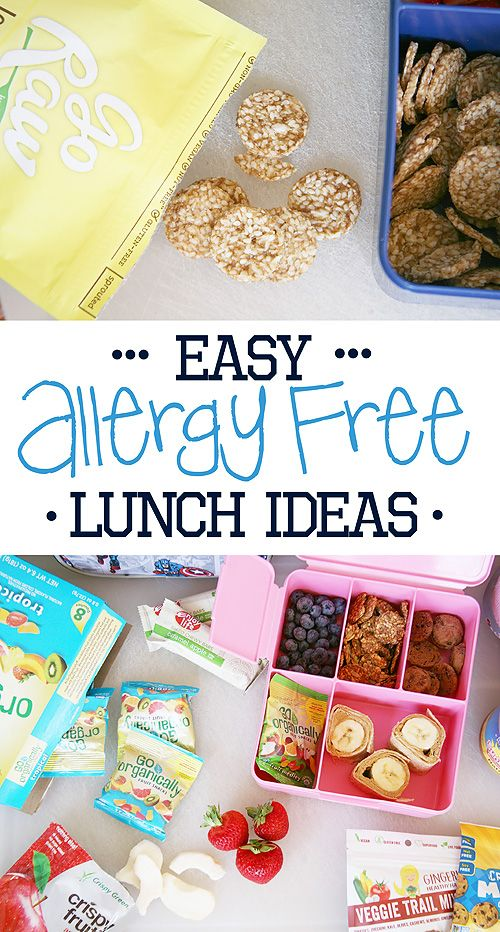 5 Allergy Free Lunch Ideas