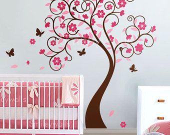 Cherry Blossom-arbre Wall Sticker Decal pépinière par styleywalls