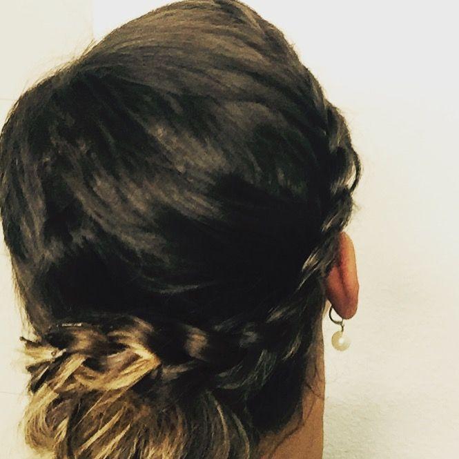 tolle Punkflechtfrisur. Folge mir auf Facebook Hairstyling Amandita