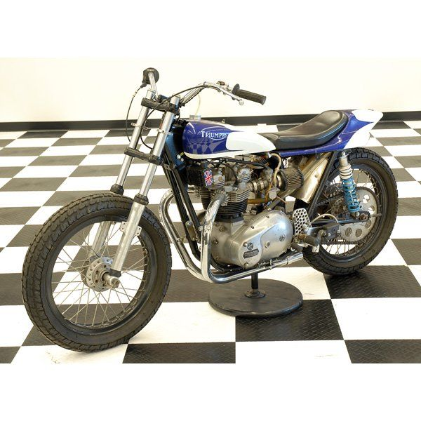 flat track motorcycles | 255: 1970 Triumph T140E Flat Tracker Motorcycle.