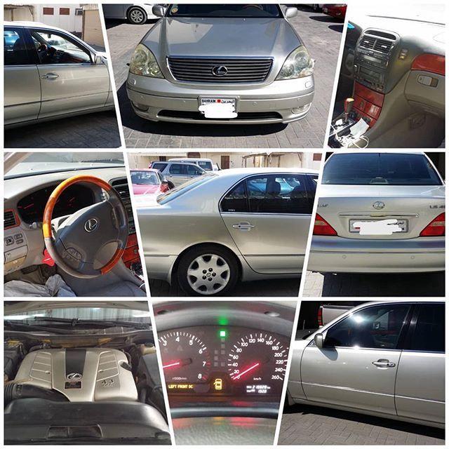 للبيع لكزس Ls430 وكالة البحرين موديل 2002 اللون رصاصي ماشي 218000 التسجيل 7 2020 تم تبديل Timeng Bulet 150000 الف كيلو تم تغيير In 2020 Car Vehicles Car Door