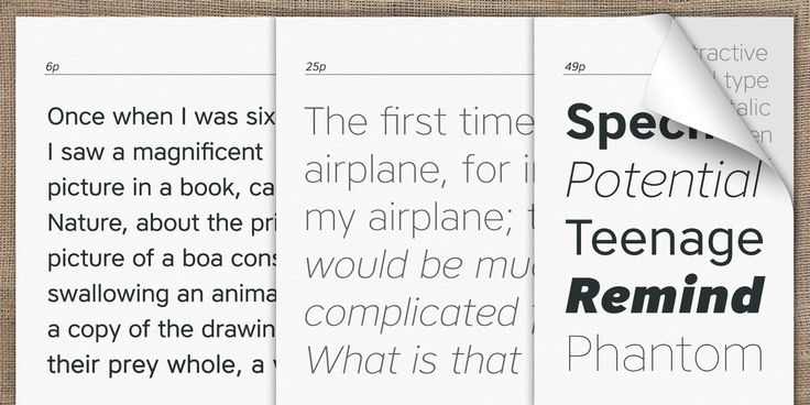 Core Sans A Font Family Screenshots