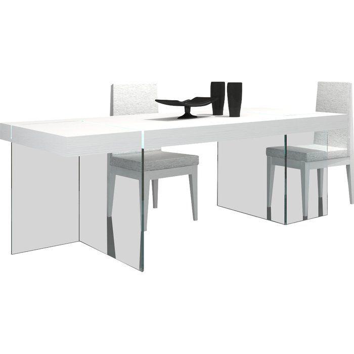 Wade Logan Domenica Modern Dining Table Reviews Wayfair