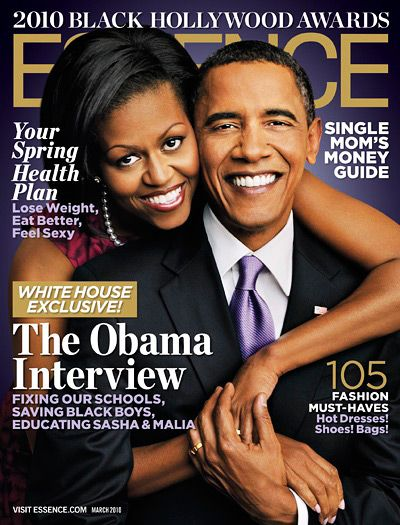 Essence Magazine show casing an amazing couple that captures the essence of a healthy Black marriage :)
