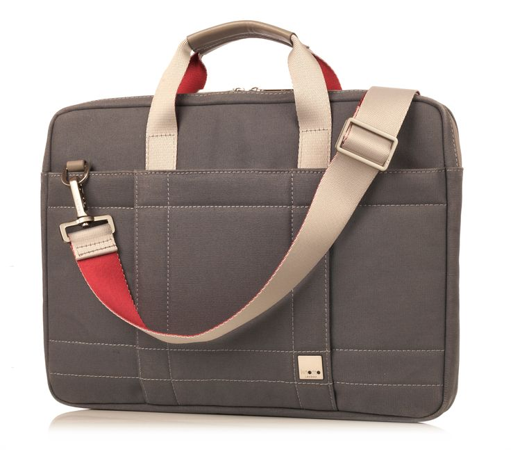 The Lincoln is a versatile, lightweight briefcase that will not only protect your MacBook, but also your image. Made from waxed canvas with waterproof zips, the Lincoln is stylish and as close to water-tight as possible. It features a padded compartment for your MacBook as well as space for your daily essentials.