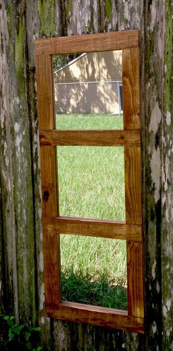 Hey, I found this really awesome Etsy listing at https://www.etsy.com/listing/250212872/rustic-three-panel-mirror