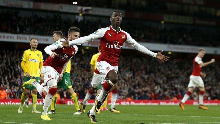 Nice Nketiah Will Always Score Goals   Henry