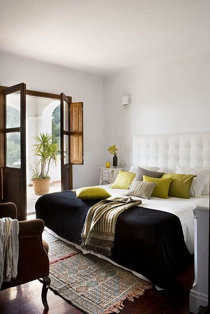 fresh room favorite-places-spaces: Beds Rooms, Bedrooms Design, French Doors, Design Interiors, Interiors Design, Design Bedrooms, Ibiza Spain, Bedrooms Decor, Design Home